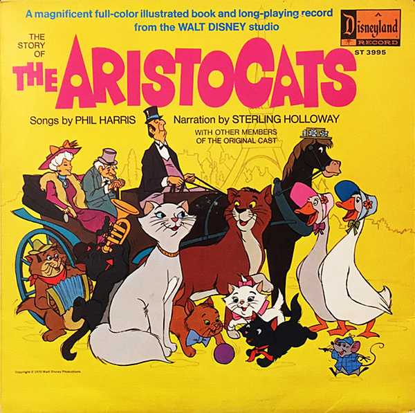 The Story Of The Aristocats, chansons de Phil Harris