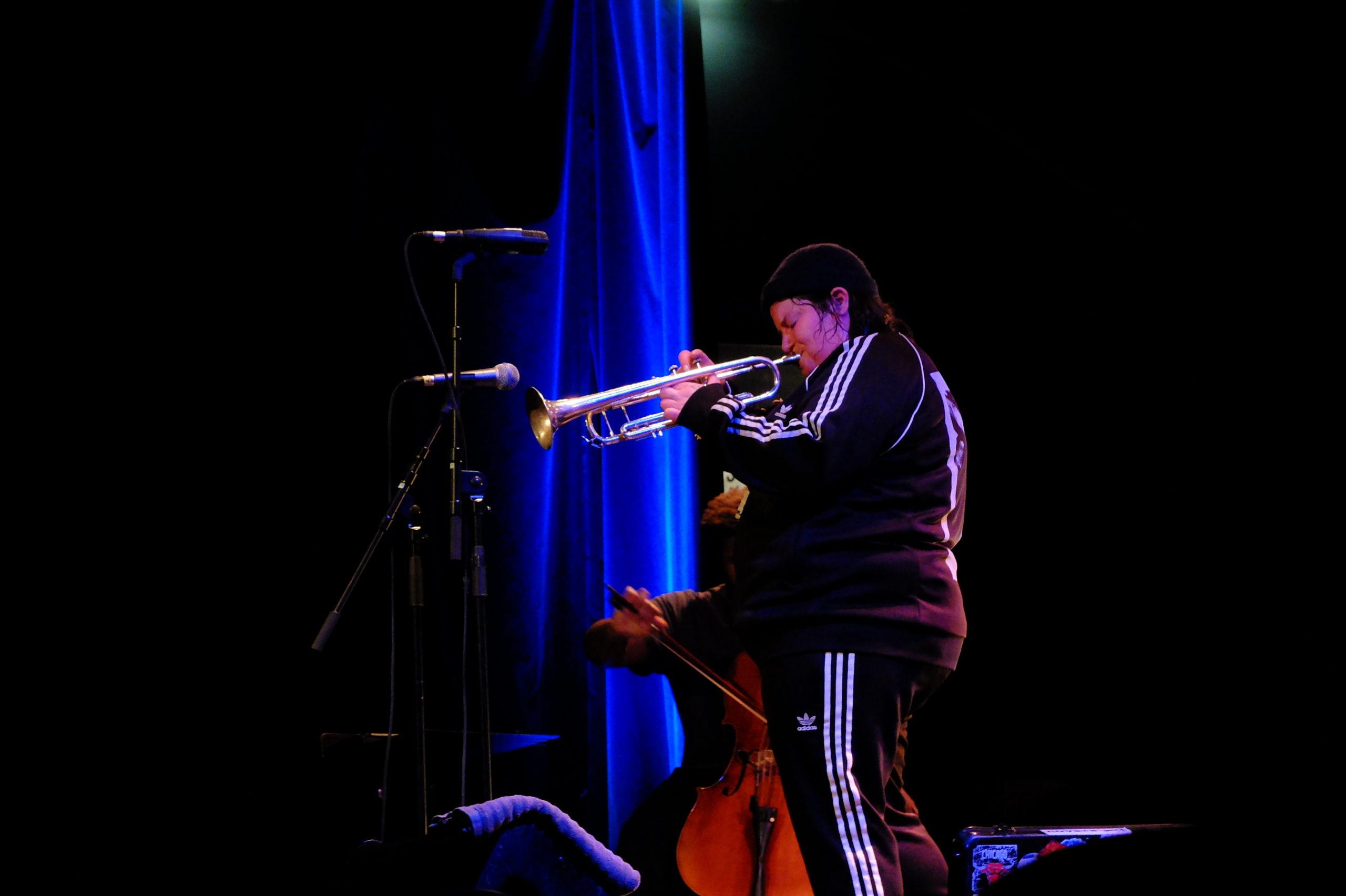 Jaimie Branch, trompettiste