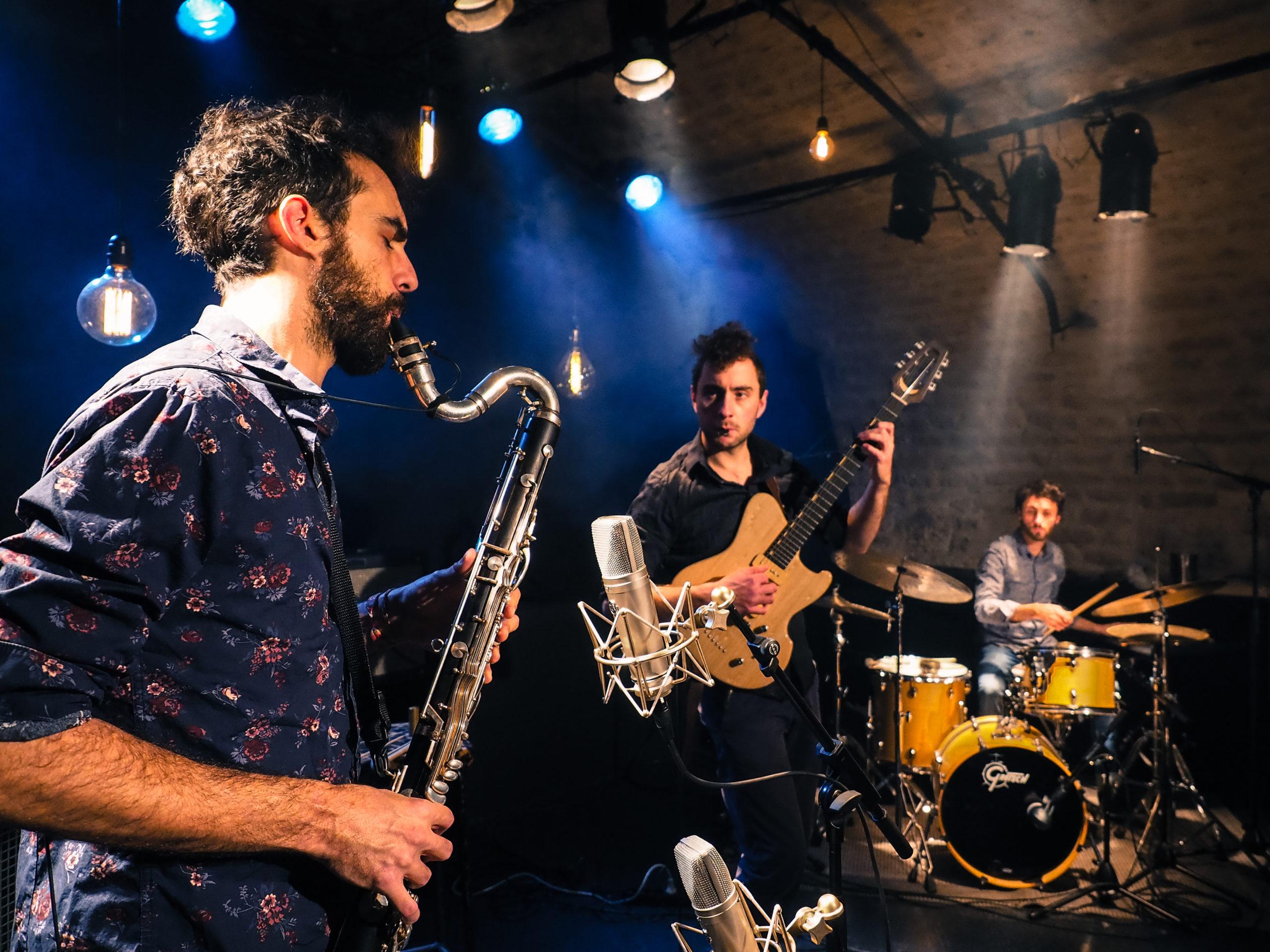 Kolm : Loïc Vergnaux, Vincent Duchosal et Adrien Desse