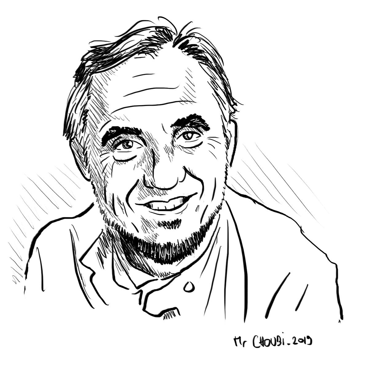 Jacques Loussier illustré par Mr Choubi