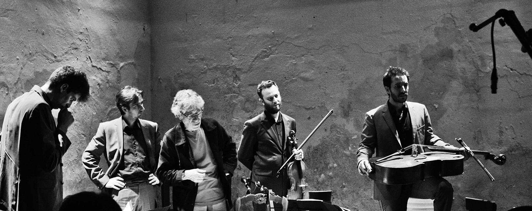 Albert Marcoeur et le Quatuor Béla