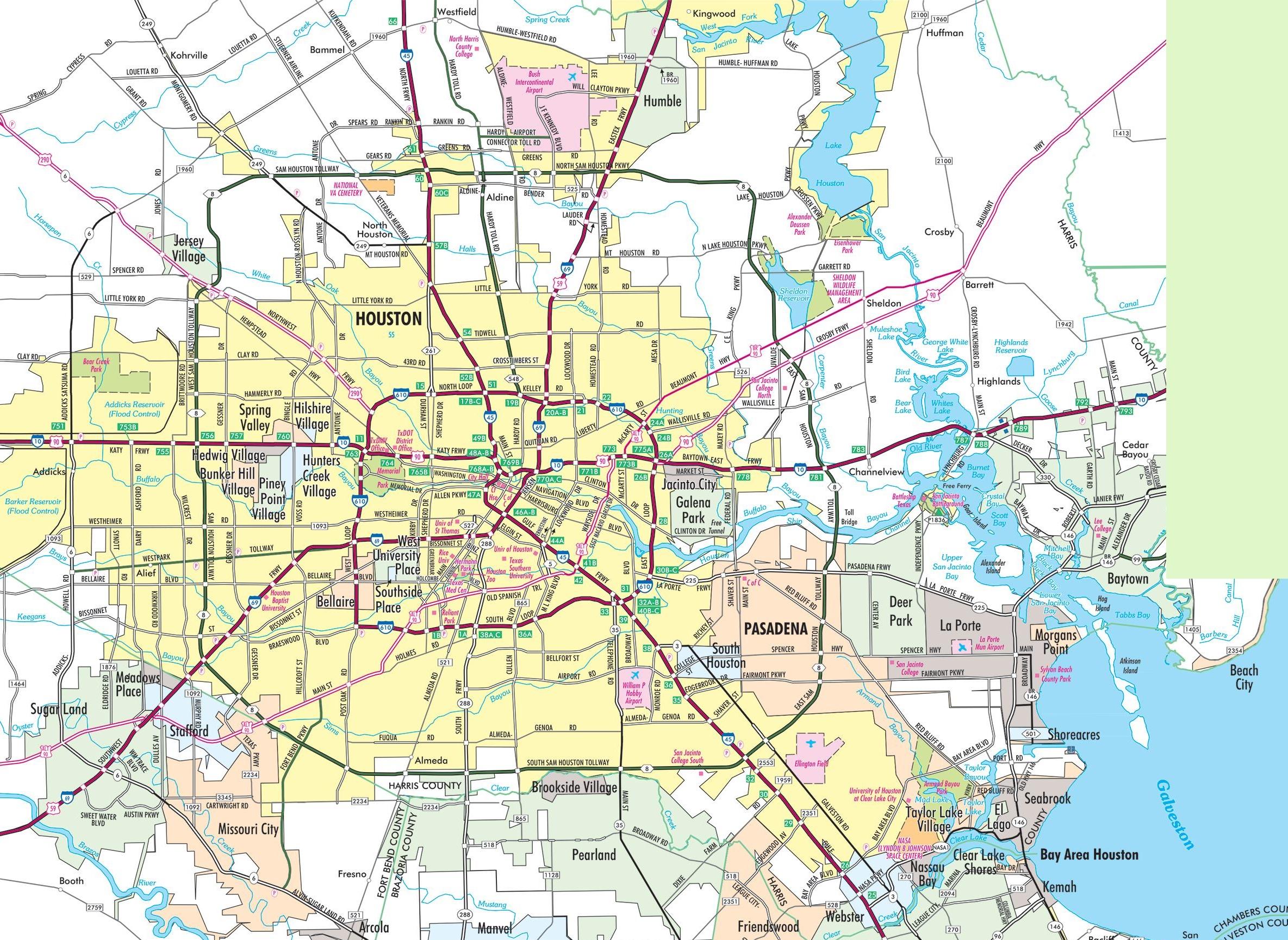 Carte Houston