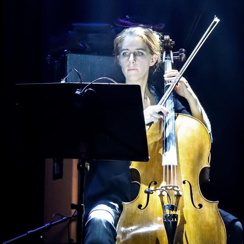 Annabelle Rogelet au violoncelle
