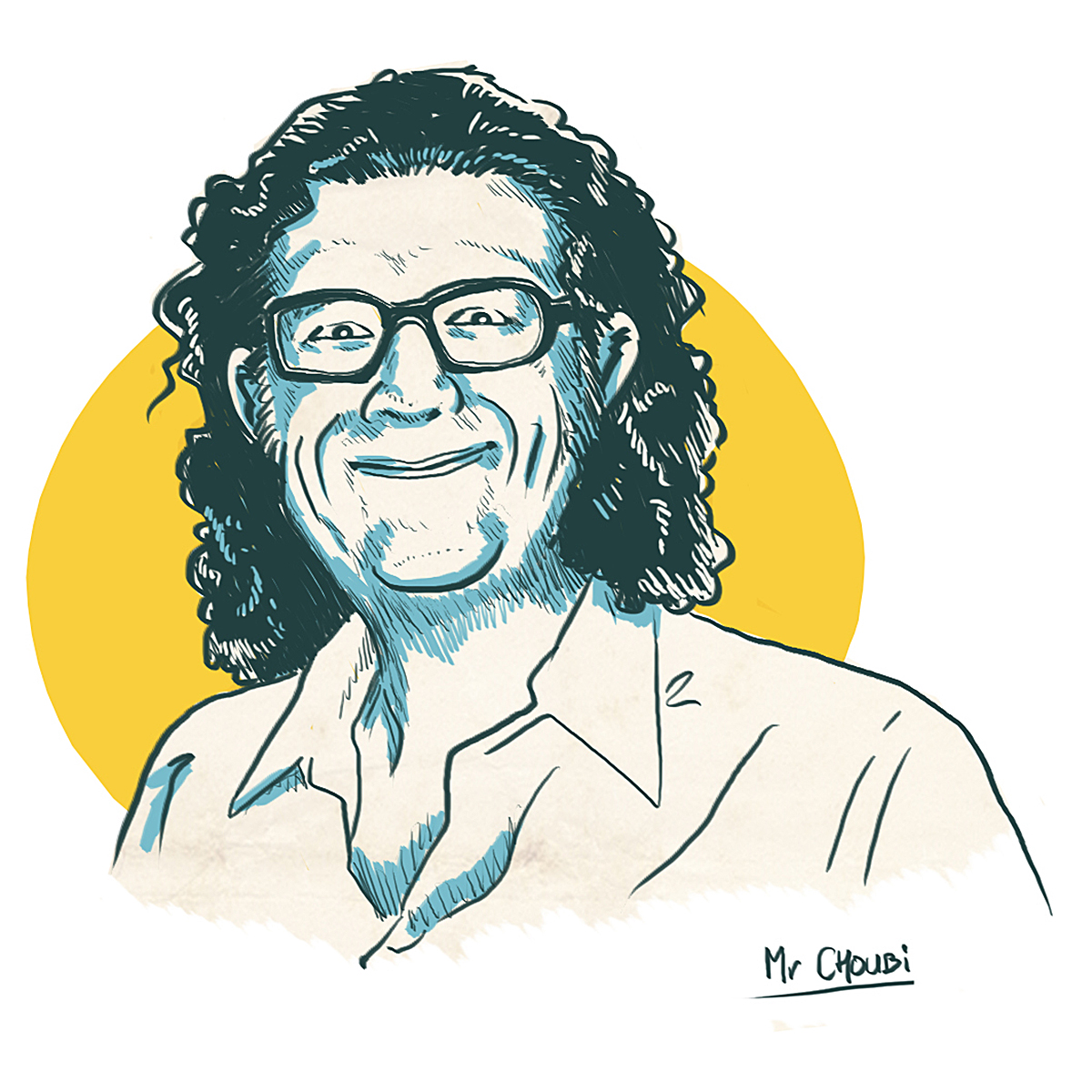 Bernard Estardy illustré par Mr Choubi