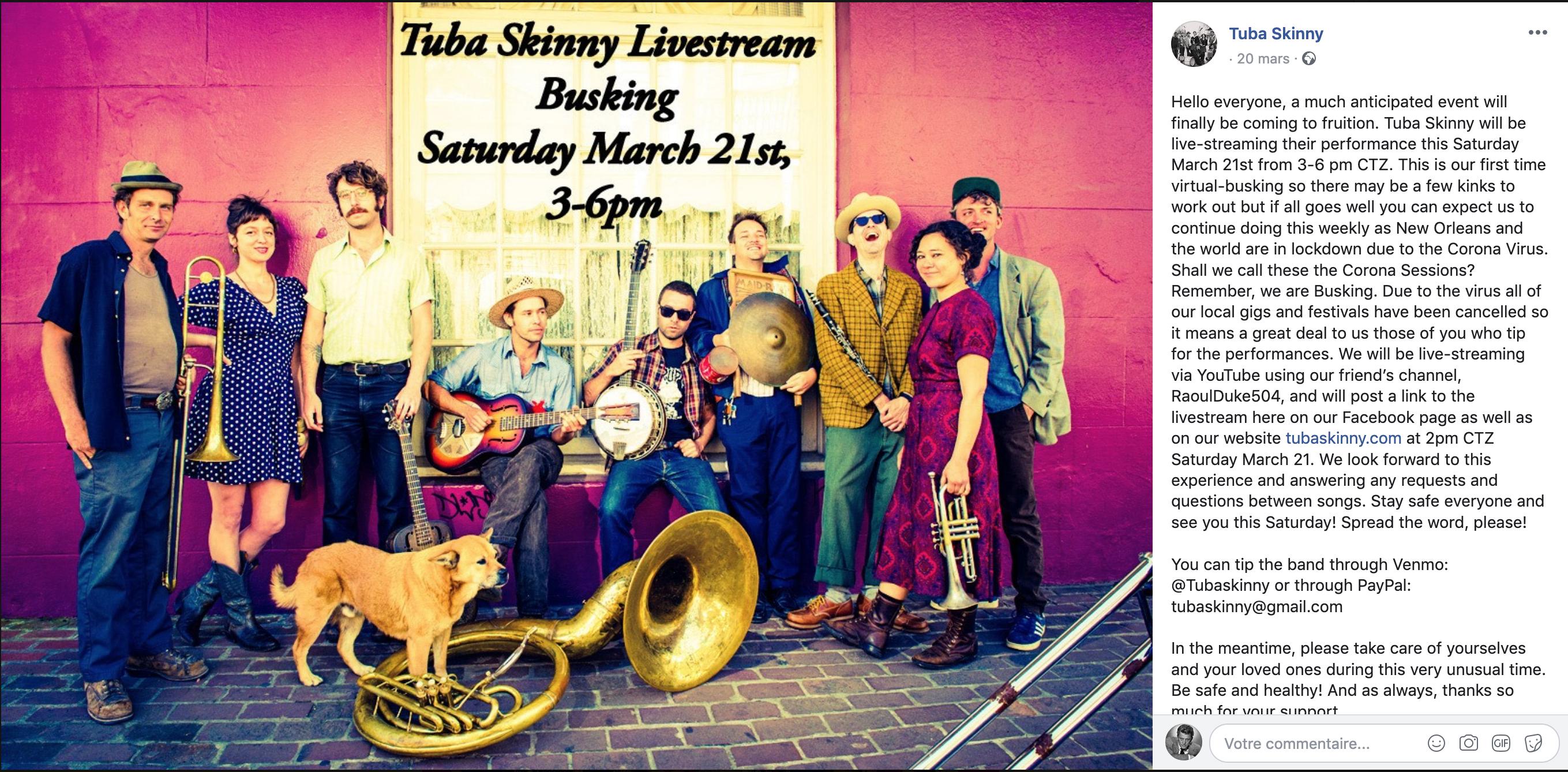 Capture d'écran Tuba Skinny