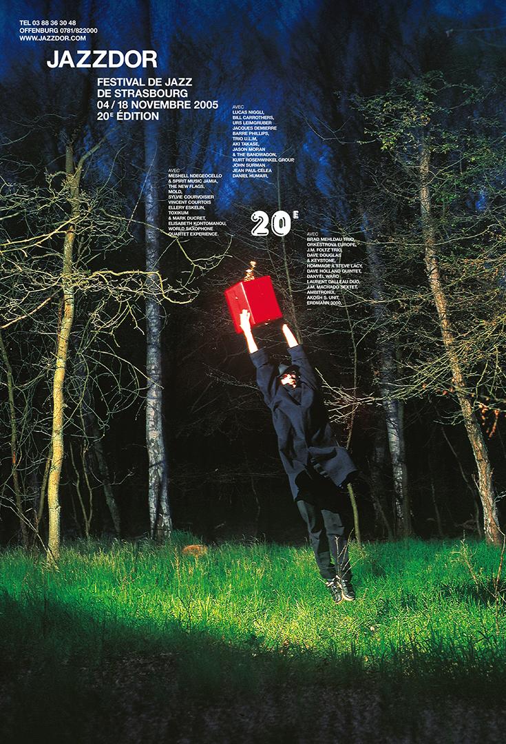 Affiche Jazzdor 2005