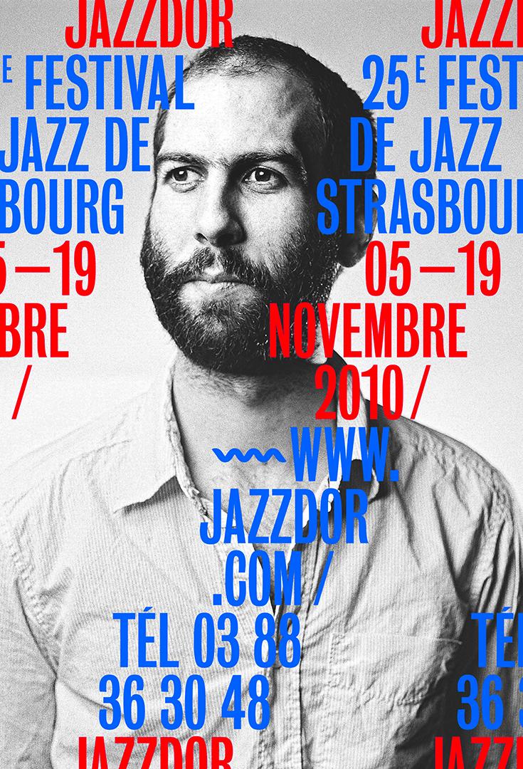 Affiche Jazzdor 2010