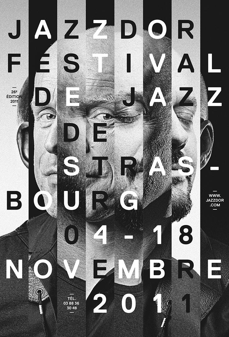 Affiche Jazzdor 2011
