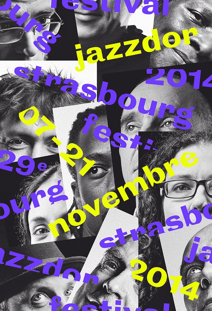 Affiche Jazzdor 2014