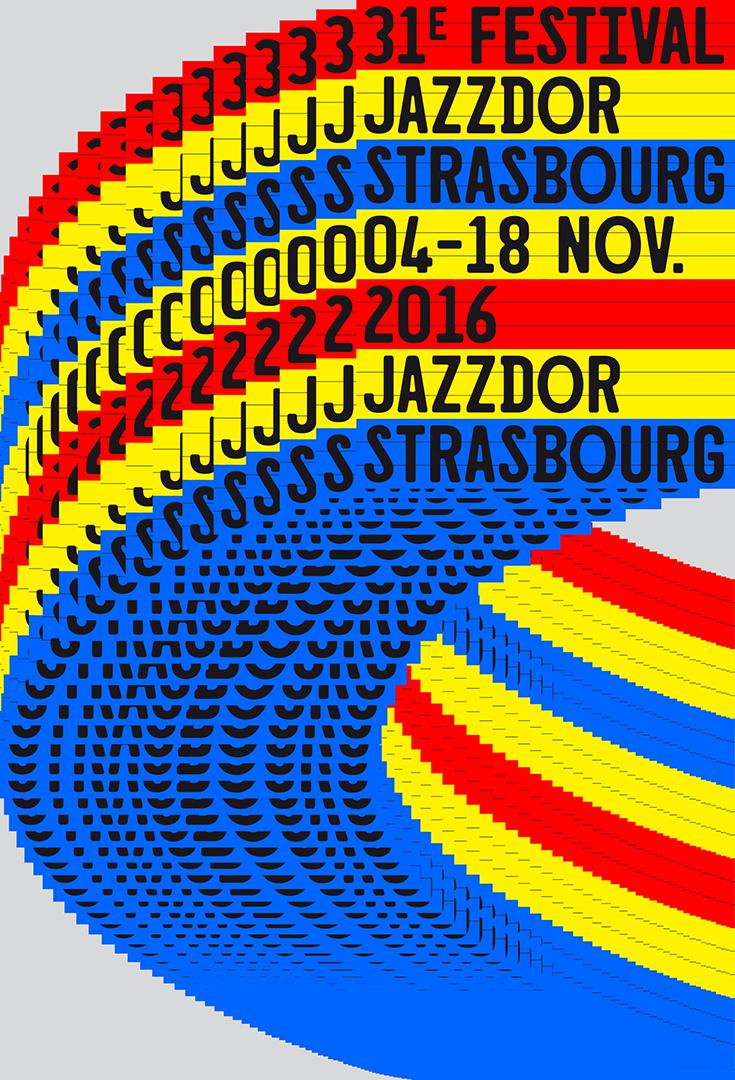 Affiche Jazzdor 2016