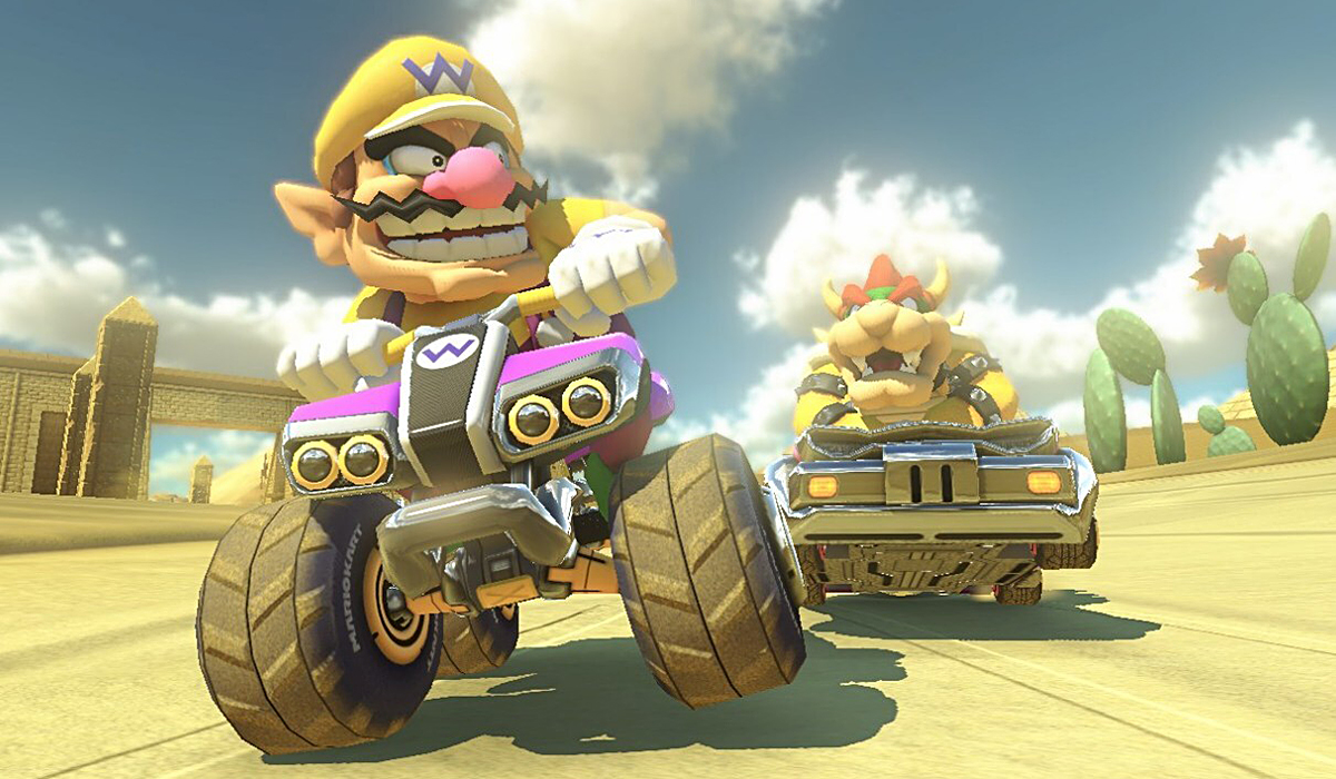 Mario Kart 8 Wario et Bowser