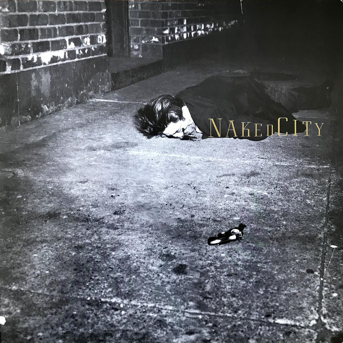 Pochette Naked City de John Zorn