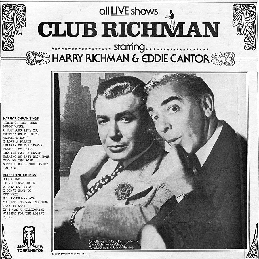 Club Richman de Harry Richman et Eddie Cantor