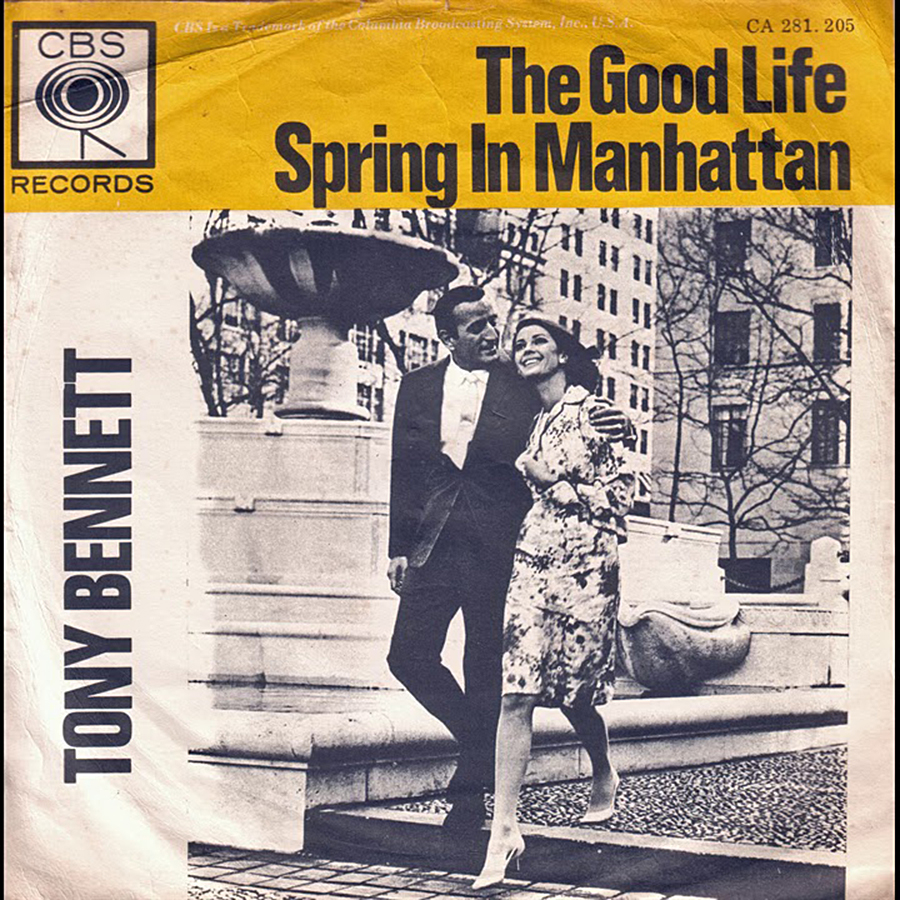 The Good Life / Spring In Manhattan de Tony Bennett