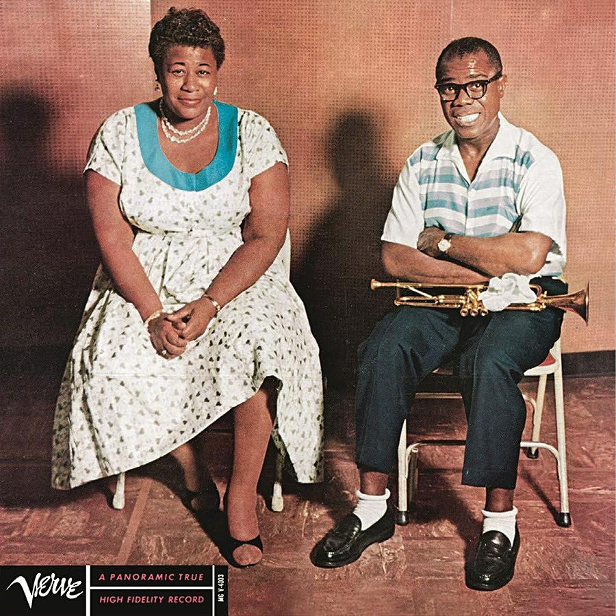 Ella Fitzgerald et Louis Armstrong