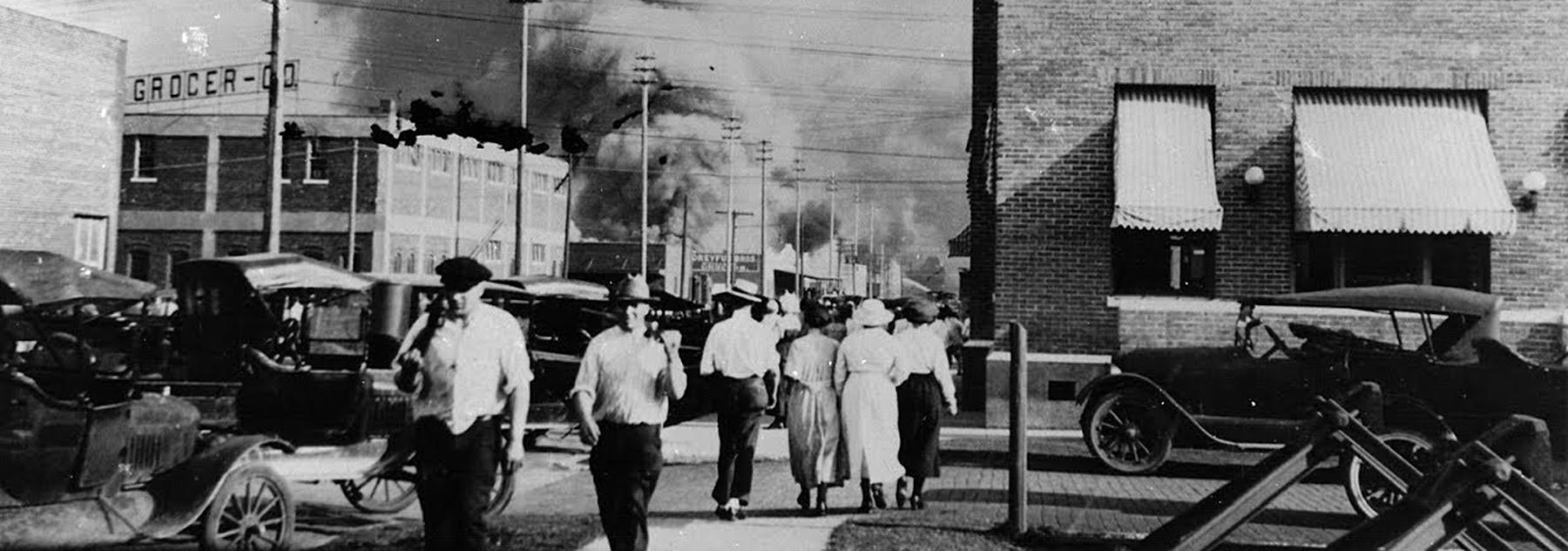 Tulsa en feu 1921