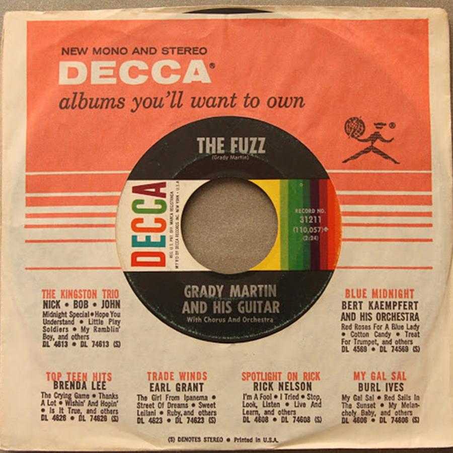 The Fuzz de Grady Martin And His Guitar