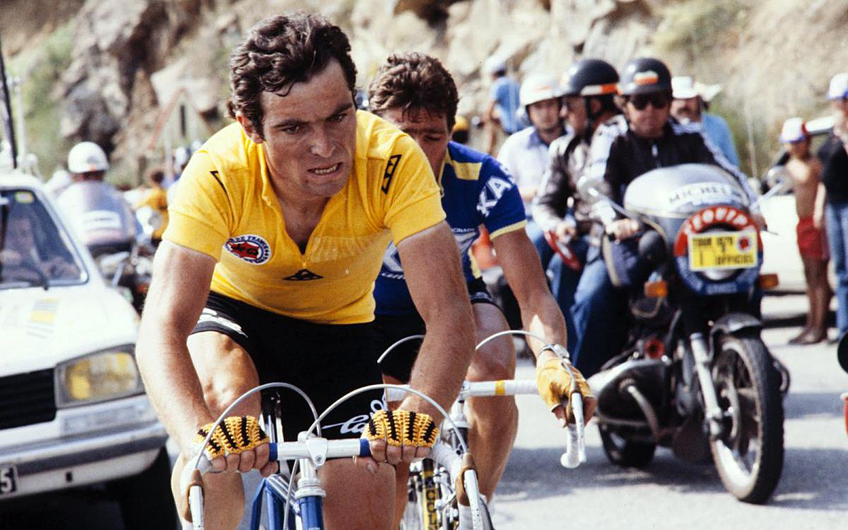 Bernard Hinault, cycliste