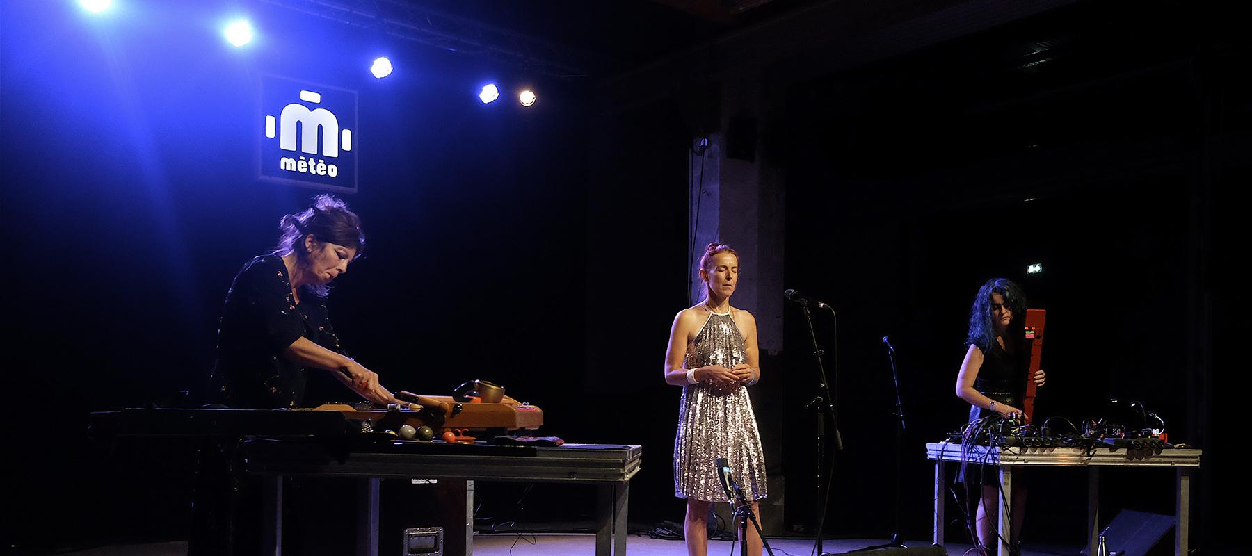 NYX : Sophie Agnel, Isabelle Duthoit et Angelica Castello au festival Météo de 2020