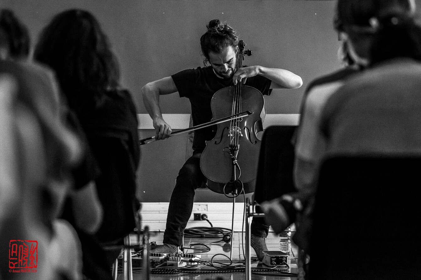 Stéphane Clor au festival Musique Action