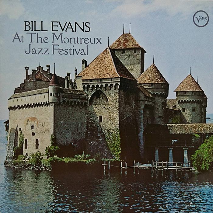 At The Montreux Jazz Festival de Bill Evans