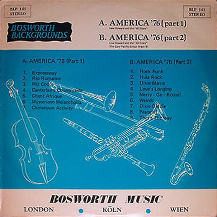 """Lew Howard And The """"All Stars"""""""