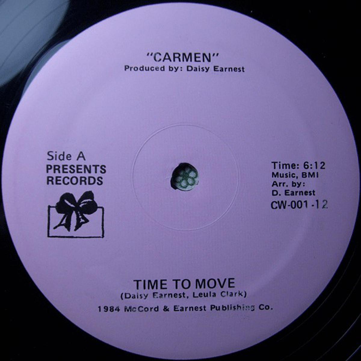 Carmen de Time To Move
