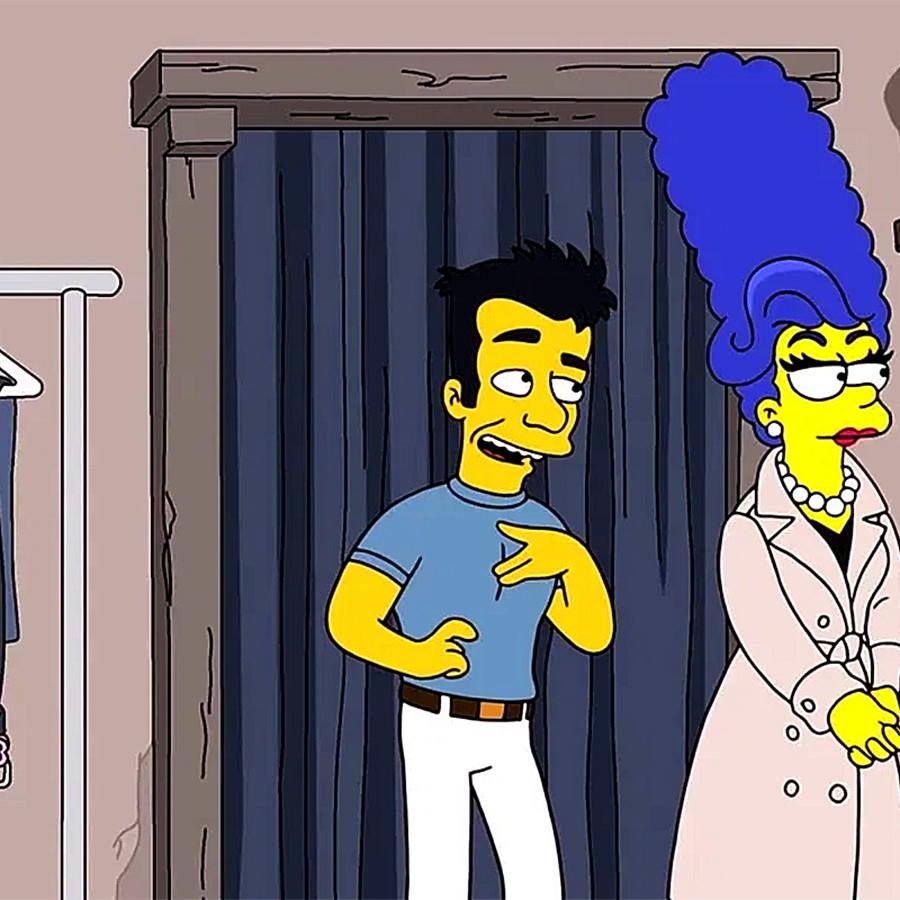Simpsons Sensual KItsch