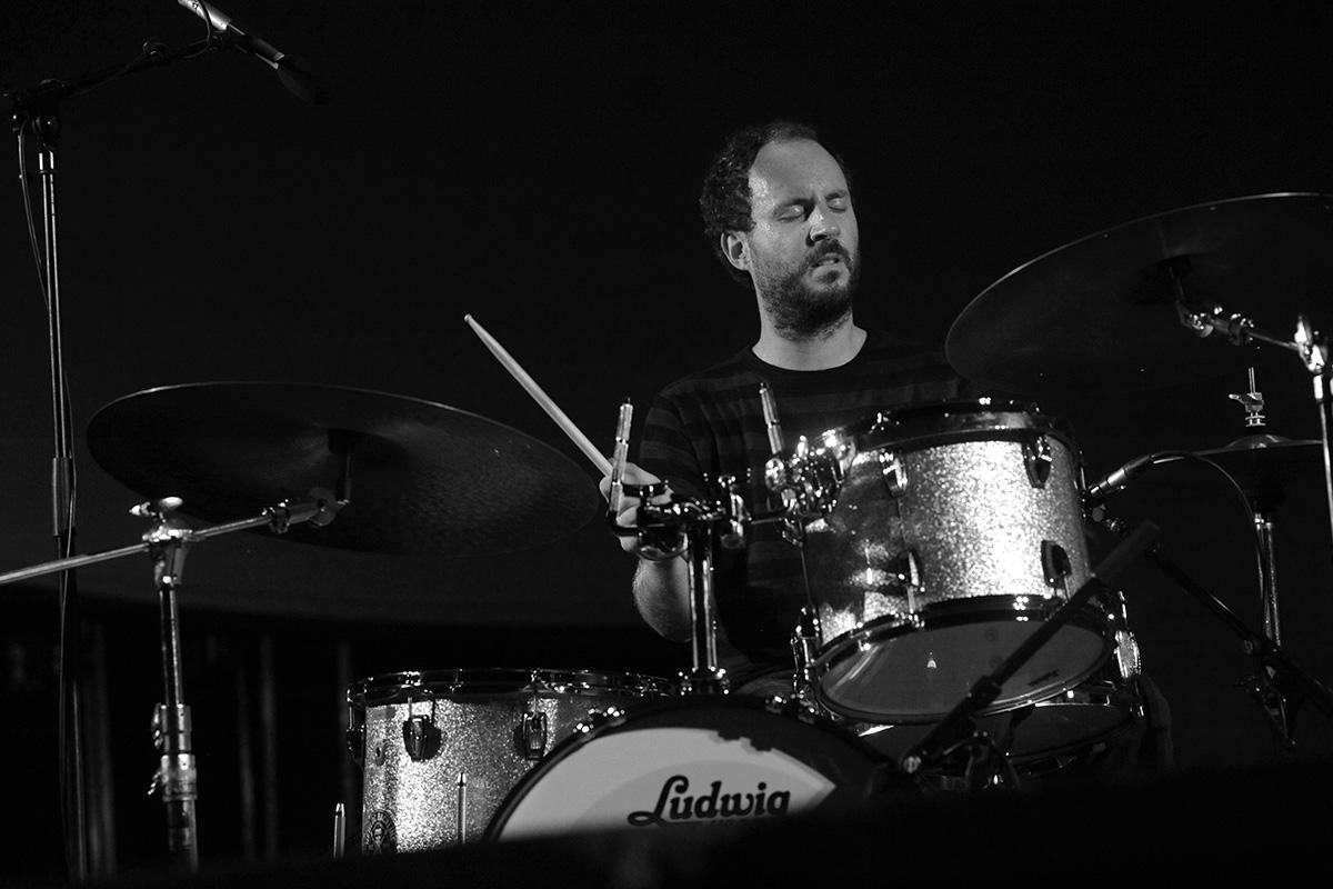 Antonin Gerbal à la batterie