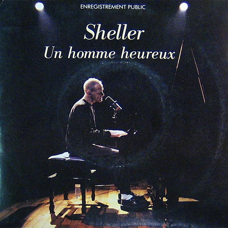 Un Homme heureux de Willam Sheller, pochette du disque