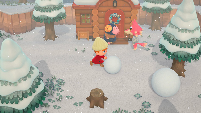 Screener de Animal Crossing, New Horizons