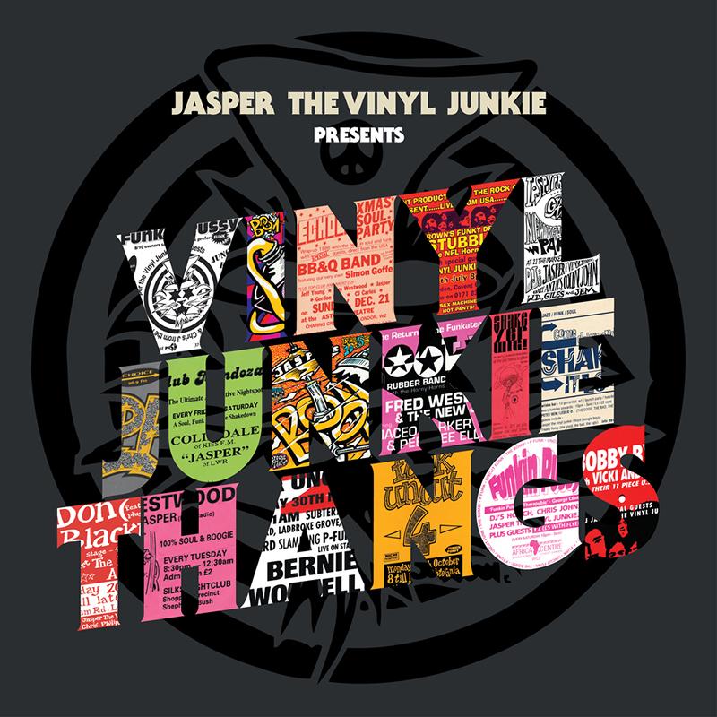 Jasper The Vinyl Junkie presents Vinyl Junkie Thangs
