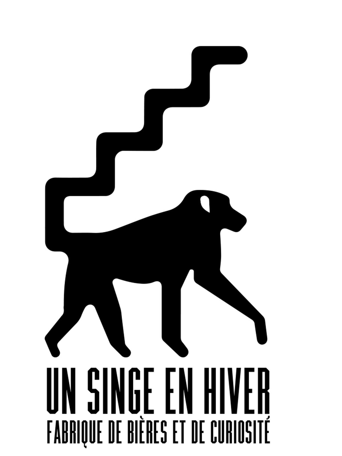 Logo Un Singe en hiver