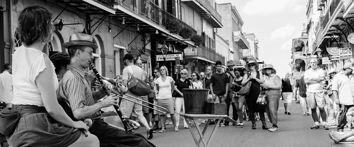 nola 2. le jazz à la rue