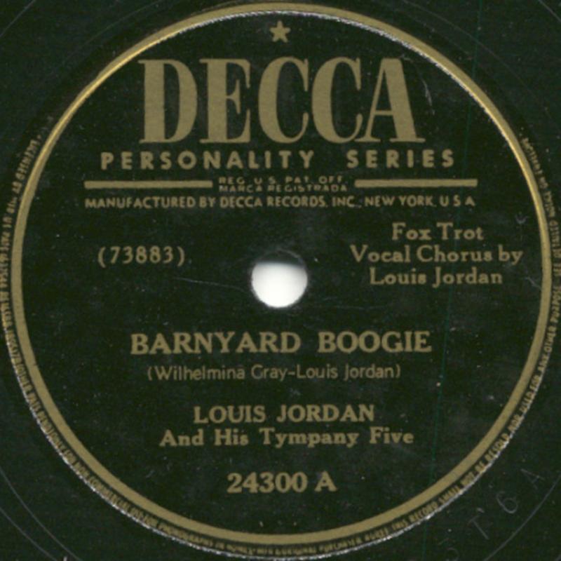 Louis Jordan - Barnyard Boogie