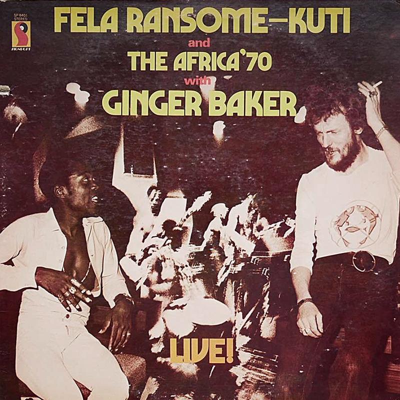 Live! de Fela Kuti & Ginger Baker
